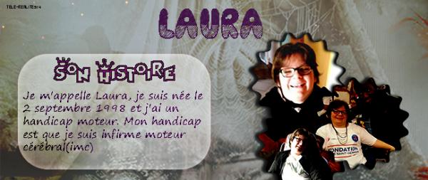 Laura l'infirme moteur cérébral son histoire