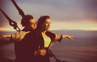 """Where to Miss ?"" "" To the stars ."" Titanic ."