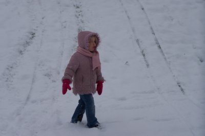 delire dans la neige