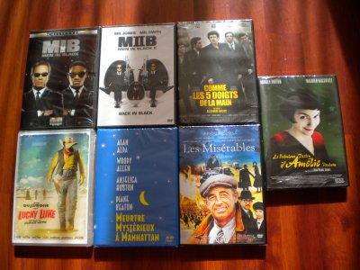 DVD Neufs à 3 euros!