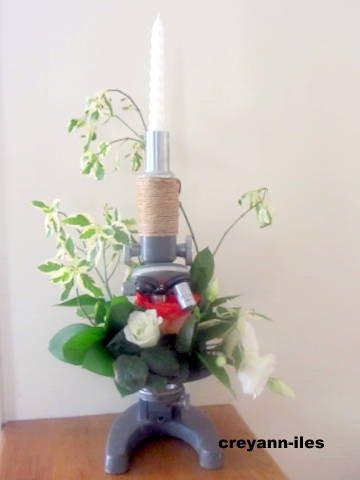 Photo de l'avant dernier concours ayant comme thème: Fleurs festives