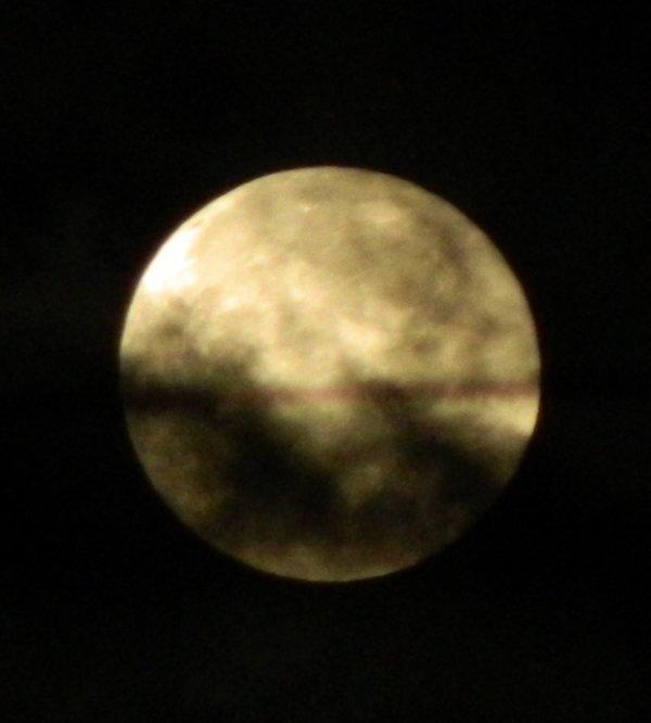 La lune de ce jour
