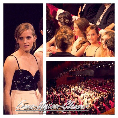 Coucou , des photos de Emma a la première et de Emma quittant la premère sont apparue + 3 vidéo + Infos
