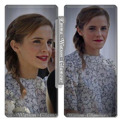 18.05.13->Coucou :D Emma a participé hier soir au Grand journal , j'espére que vous l'avez regardez , c'étais géniale! Je vous met les photos et la vidéo Bisous!