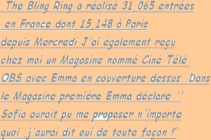 17.06.13-> Critique de The Bling Ring et la vidéo de 50 min inside.