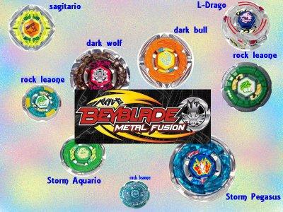 Beyblade metal fusion!
