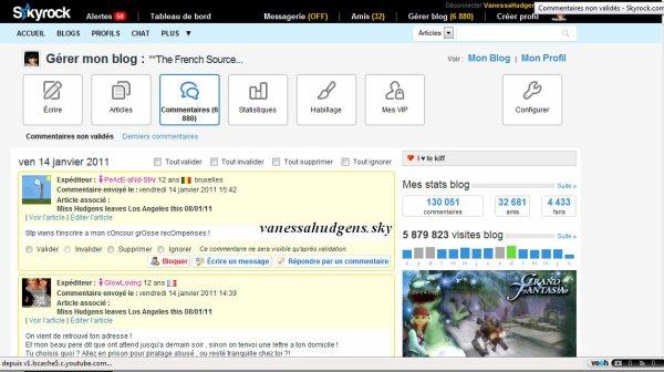 FIN DE VANESSAHUDGENS.SKY(08/02/2006- 05/05/2011) ET DE BRENDASONG.SKY(14/01/2006-11/10/2011)