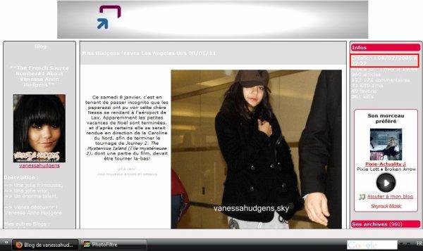 VANESSAHUDGENS.SKY l'histoire d'un blog tant convoité pour une notorièté du web