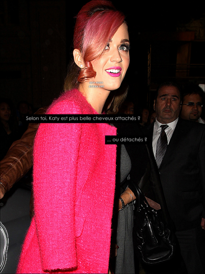 "le 17/10/11 katy ete avec sa belle mere au theatre ""ghost the musical"""