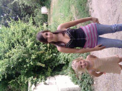 moi et ma petite soeur (été 2010)