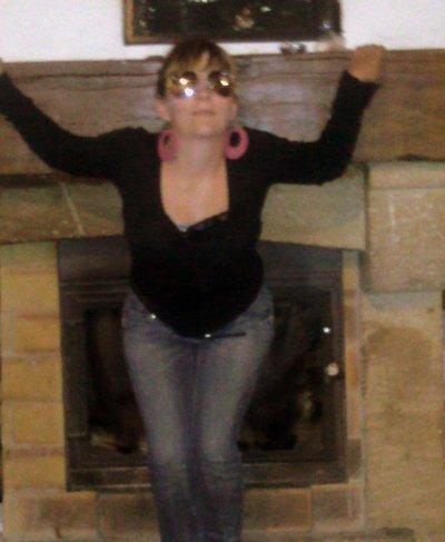 moi & la cheminé ♥