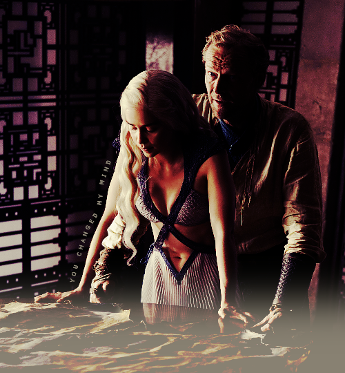 Jorah et Daenerys  <3