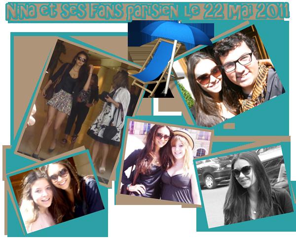 Nina, Ian & leurs mères à Paris. C'est officiel ils sont bien ensemble ! Nouvelles photos du shoot Seventeen Fitness.