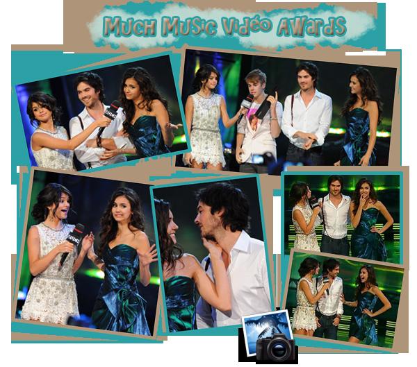 Hier le 19 juin, Nina et Ian étaient présents aux Much Music Vidéo Awards ou ils ont parlés de The Vampire Diaries. Nina était magnifique dans sa robe bleue