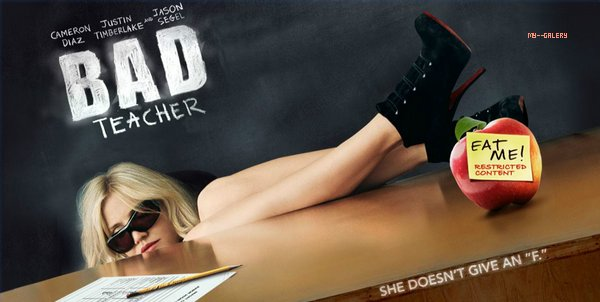 BAD TEACHER  #.  MY--GALERY :  Avatars vidéos : actualy-serie . MA NOTE :  ♥ ♥  ♥ ♥ ♥