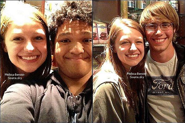Mardi dernier, Melissa et Blake ont été vus à San Fransisco et ont pris des photos avec des fans.