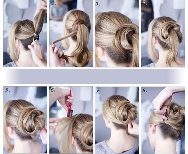 coiffure pour les fetes