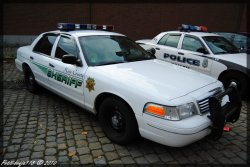 Ford Crown Victoria Police US