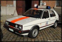 Volkswagen Golf Gendarmerie Belge