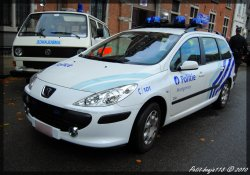 Peugeot 307 Sw Police Locale Montgomery