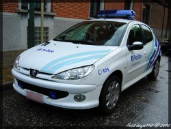 Peugeot 207 Police Locale Montgomery