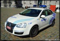 Volkswagen Jetta Police Locale Bruxelles CAPITALE Ixelles