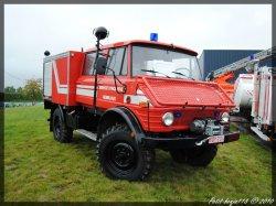 Mercedes Unimog Service D'incendie Gembloux