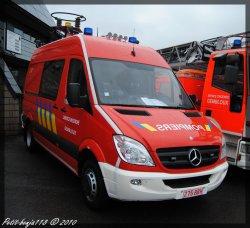 Mercedes Sprinter Désincar Service D'incendie Gembloux