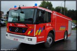 Mercedes Econic citerne Service D'incendie Gembloux