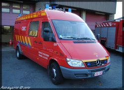 Mercedes Sprinter CMIC Service D'incendie Braine-L'alleud