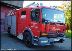 Mercedes Atego Service D'incendie Braine-L'alleud