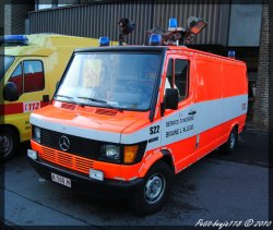 Mercedes 310 D Service D'incendie Braine-L'alleud