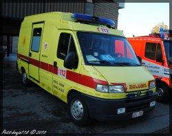 Peugeot Boxer Ambulance Service D'incendie Braine-L'alleud