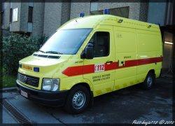 Volkswagen Lt Ambulance Service D'incendie Braine-L'alleud