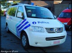Volkswagen Transporter 5 Police Locale Braine-L'alleud