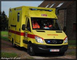 Mercedes Sprinter Ambulance Service D'incendie Braine-L'alleud
