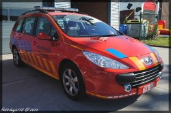 Peugeot 307 Sw Brandweer Zaventem