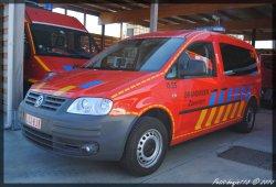 Volkswagen Caddy Brandweer Zaventem