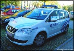 Volkswagen Touran Politie Zaventem