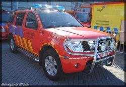 Nissan Pathfinder Brandweer Zaventem