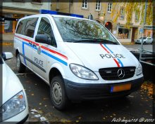 Mercedes Vito  Police Grand-Ducale Luxembourg
