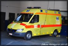 Mercedes Sprinter Ambulance Service D'incendie Dinant