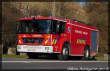 Mercedes Econic citerne Service D'incendie Dinant