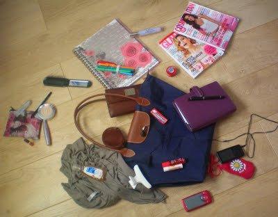 Le sac d'une fille