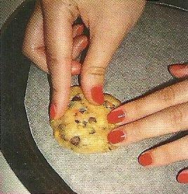 La cuisine de Mélanie : Cookies aux M&M's & aux pépites de chocolat.