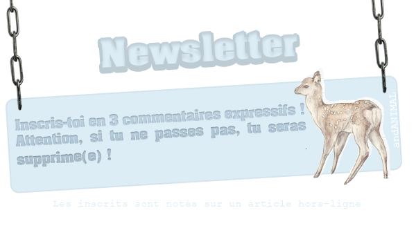 Newsletter. ♥