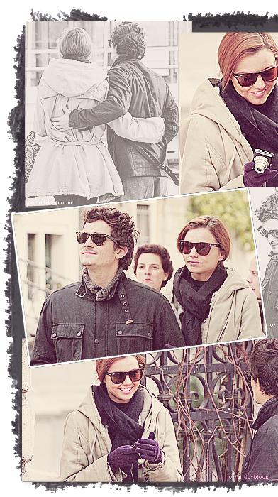 24/11/2008 - Orlando et Miranda étaient à Venise en Italie ♥