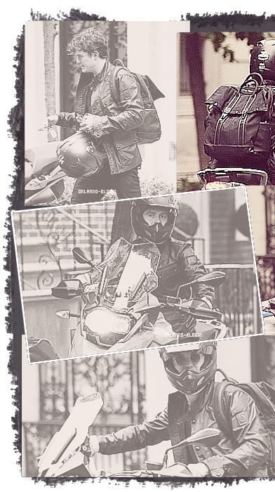 25/07/13 - Orlando a été aperçu tout beau en moto à New-York ♥