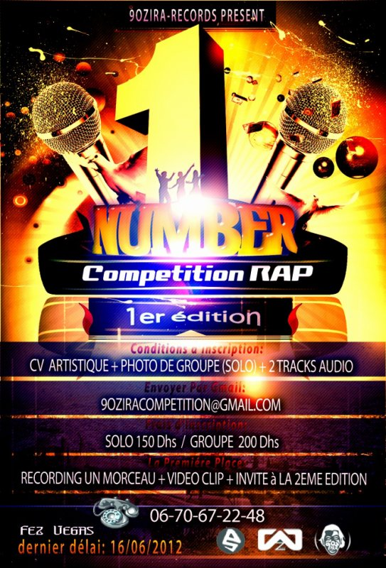 "Competition Rap National "" Number one """