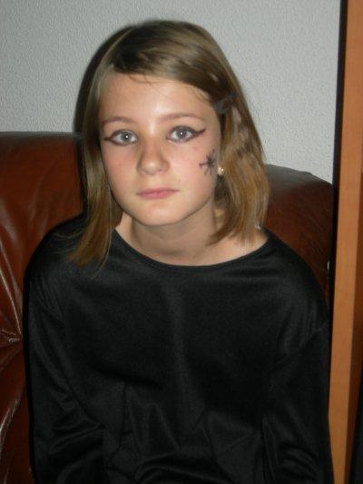 Halloween 2010 pour Léana !